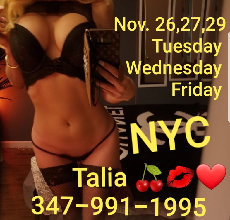 Talia Profile, Escort in Los Angeles, 347 991 1995